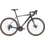 Vélo Gravel Saracen Hack in Black Shimano 105 5800 [2 x 11] - 2018