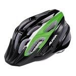 Casque Alpina FB Junior 2.0 Flash - Noir/Vert/Blanc