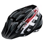 Casque Alpina FB Junior 2.0 - Noir/Blanc/Rouge