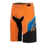 Short Alpinestars Predator - Orange/Bleu