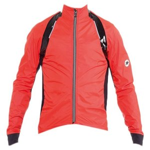 Veste Pluie Assos rS.sturmPrinz Evo - Rouge/Orange