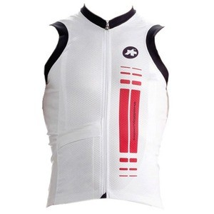 Maillot sans manche Assos NS.SuperLeggera - Red Swiss