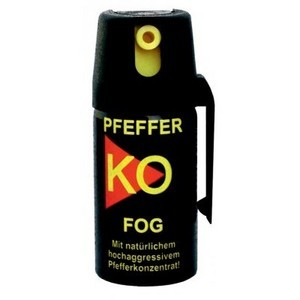 Spray de défense au poivre Ballistol PEPPER-KO 40ml FOG Spray