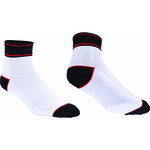 Chaussettes BBB TechnoFeet BSO-05 - Blanc/Rouge