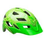 Casque Bell Sidetrack Enfant - Kryptonite Brillant/Retina
