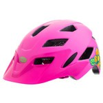 Casque Bell Sidetrack Enfant - Rose Mat/Lime