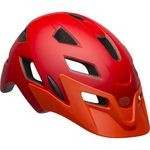 Casque Bell Sidetrack Jeunesse - Rouge Mat/Orange