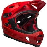 Casque Bell Super DH MIPS - Rouge Mat/Brillant/Noir