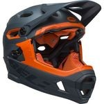 Casque Bell Super DH MIPS - Ardoise Mat/Brillant/Orange