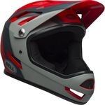 Casque Bell Sanction - Rouge/Gris