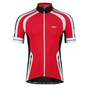Bicycle Line Maillot Manche Courte REKORD Rouge