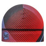 MICROFIBER 1 LAYER HAT BUFF RETRO LINES RED Adult