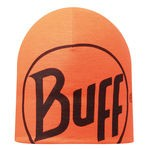 MICROFIBER REVERSIBLE HAT BUFF R-LOGO GRAPHITE - ORANGE Adult