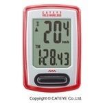 Compteur Cateye Velo Wireless CC-VT 230 W - Blanc/Rouge