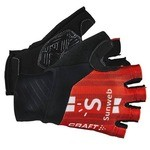 Gants Craft Sunweb - Rouge