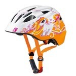 Casque Cratoni Akino - Orange/Blanc