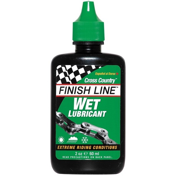 Huile V�lo :: Lubrifiant condition humide Finish Line Wet Lube - 60 ml