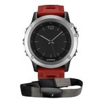 Montre GPS Outdoor Garmin Fenix 3 Performance - Hrm Argent