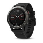 Montre GPS Outdoor Garmin Fenix 5 HR - Gris/Noir