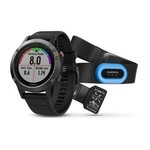 Montre GPS Outdoor Garmin Fenix 5 boîtier 47mm - Pack Performer - HRM-TRI