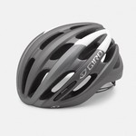 Casque Giro Foray - Titane/Balnc