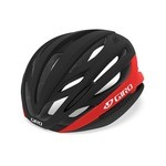 Casque Giro Syntax Mips - Noir Mat/Rouge Brillant