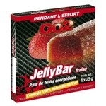 Pâte de fruit GO2  Jelly Bar Fraise - 4 x 25 g