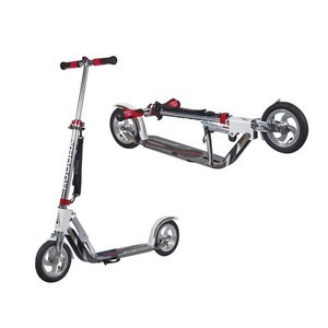 Trottinette Big Wheel Air Hudora alu 8 Air205 blanc/argent 205mm