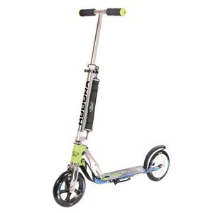 trottinette Big Wheel Hudora Alu 8 205 verte/bleue 205mm