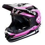 Casque Kali Zoka Youth - Noir/Rose