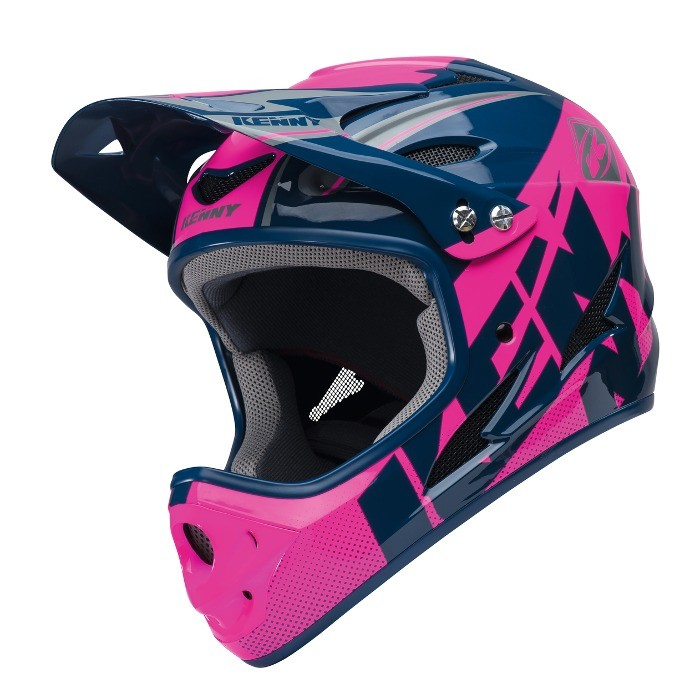 casque int gral kenny downhill navy rose xxcycle. Black Bedroom Furniture Sets. Home Design Ideas