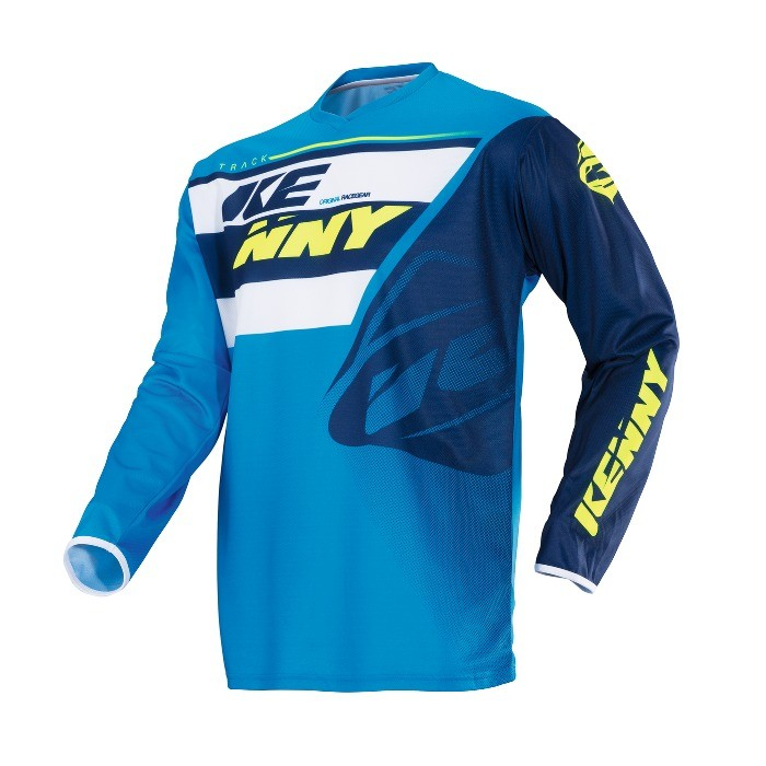 Maillot manches longues Kenny Track - Navy/Cyan