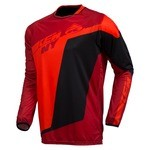 Maillot manches longues Kenny Factory - Rouge/Noir/Orange