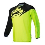 Maillot manches longues Kenny Factory - Noir/Lime