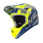 Casque Kenny Downhill - Gris/Bleu
