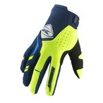 Gants Kenny Performance Adulte - Bleu Marine/Citron Vert