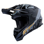 Casque Intégral Kenny Trophy Graphic - Noir-Or
