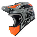 Casque Intégral Kenny Downhill Graphic - Noir-Orange