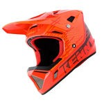 Casque Intégral Kenny Decade - Rouge-Orange