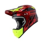 Casque Intégral Kenny Downhill Graphic - Candy Red