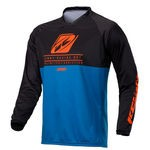 Maillot VTT Kenny Charger - Bleu-Orange