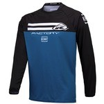Maillot Enduro/Free-Ride Kenny Factory Bleu