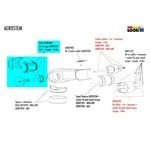 Kit de serrage Look C-Stem Version 2 Aerostem