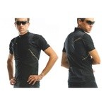 Look Maillot Manche courte  EXCELLENCE Noir/Or