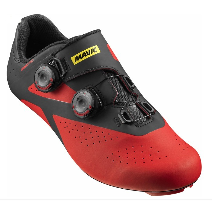 chaussures route mavic cosmic pro noir fiery red xxcycle. Black Bedroom Furniture Sets. Home Design Ideas