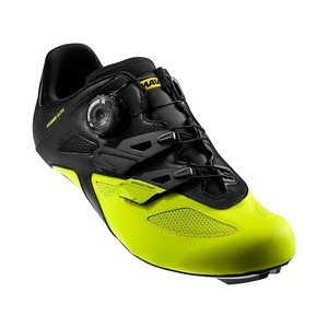 Chaussures Route Mavic Cosmic Elite - Noir/Jaune Safety