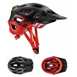 Casque VTT Mavic Crossmax Pro SSC - Noir/Fiery Red