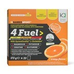 Boisson Energétique NamedSport 4Fuel - Orange - 20 Sachets
