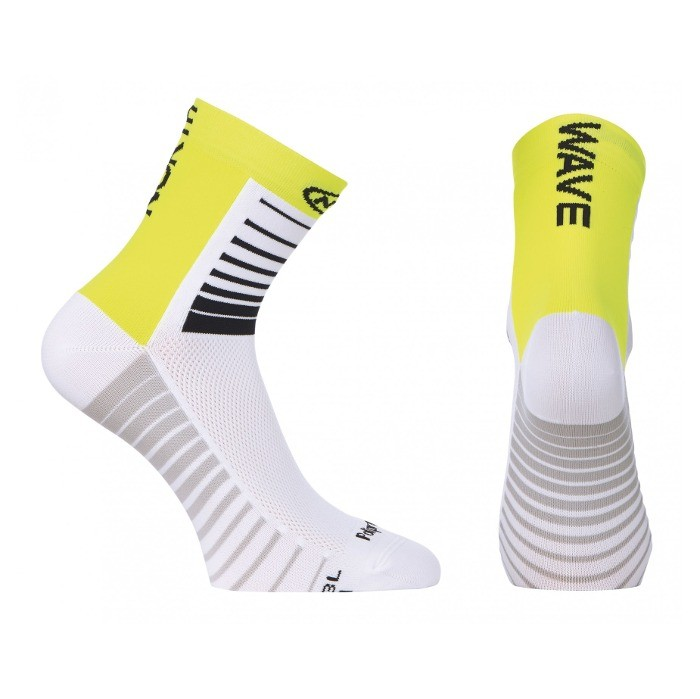 Chaussettes Northwave Sonic - Blanc/Jaune Fluo