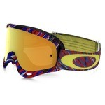 Masque Oakley O-Frame MX Rain Of Terror - 24K Iridium